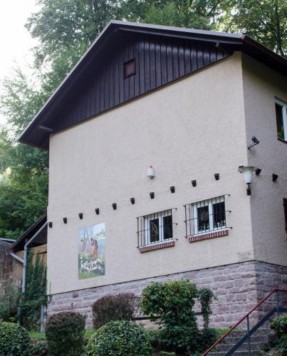 Hauptgebäude des SV Jagdschloss